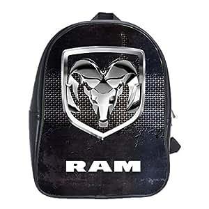 Amazon.com: Dodge Ram Truck Logo Black Leather Notebook