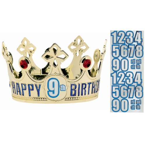 Customized Happy Birthday Crown   Royalty -