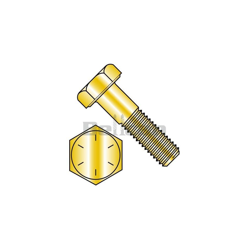 Bellcan BC 5132CH8L Fine Thread Hex CapScrew Grade 8 Zinc Yellow North American Made 1/2 20 X 2 (Box of 450)