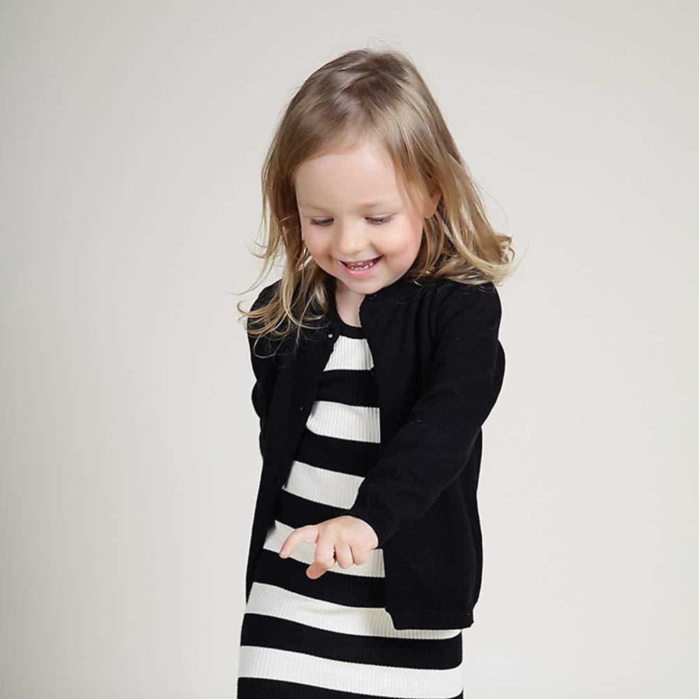 Baby Kinder Strickjacke f/ür M/ädchen Junge Stricken Sweatshirt Herbst Fr/ühjahr Sweatshirt Sweatjacke 1-6 Jahre alt