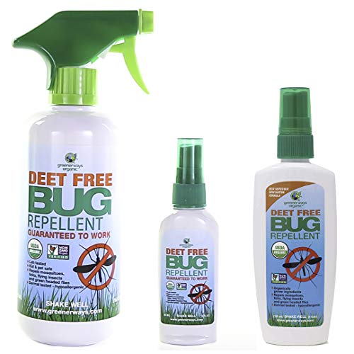 Greenerways Organic Insect Repellent