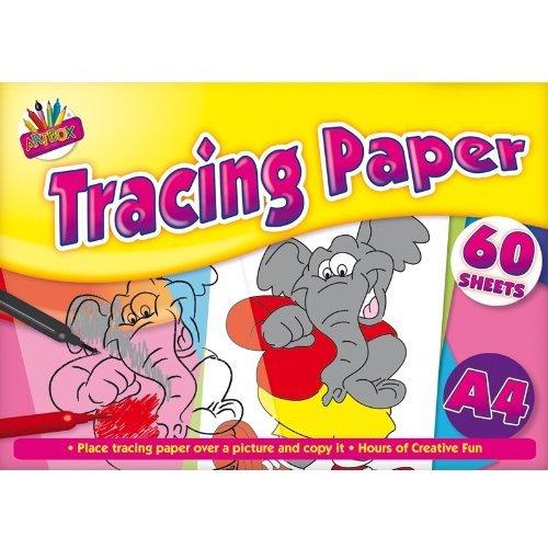 Papier calque A4 60 feuilles Shop11.Co.Uk