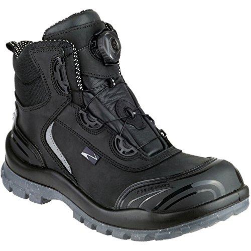 Pezzol Mens Black Boot S3 Waterproof Moonwalker Black Safety FFaxOrR