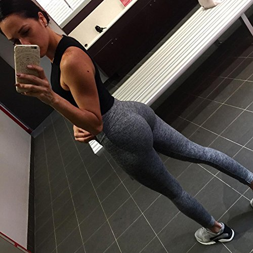 Women'S Yoga Pants Wrokout Leggings| SOISOU Tights Sprots Running Gym Pants For Fitting Athletic