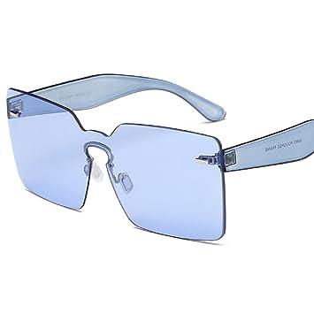 Amazon.com: YABINA - Gafas de sol cuadradas para mujer de ...