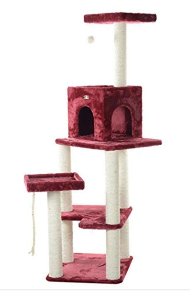 Deluxe Multi Cat Tower Cat Play Towers Large cat Furniture cat Tree Pet 40  40  110cm