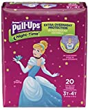 Huggies Pull-Ups Nighttime Training Pants - Girls - 3T-4T - 20 ct