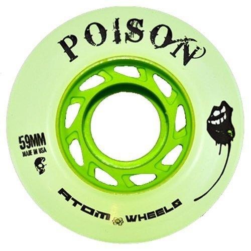 Atom's Poison Roller Derby Skate Wheels by ATOM