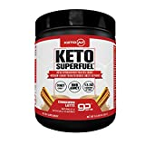 Keto AF Superfuel - Exogenous Ketones. BHB Salts and C8 Triglycerides (MCT Oil). Increase Performance, Ease into Ketosis + Enhance Mental Focus. Cinnamon Latte, Great in Coffee. Non GMO, Gluten Free