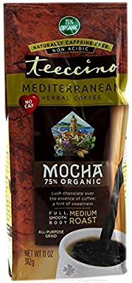 Teeccino - Herbal Coffee Alternative 75% Organic Java