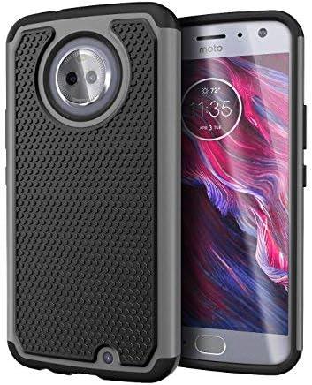 Cimo Funda para Moto X4, a Prueba de Golpes, Resistente a los Golpes, protección híbrida para Motorola Moto X4: Amazon.es: Electrónica