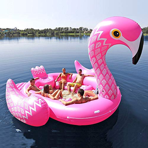 Amazon.com: Unicorn Flamingo gigante inflable barco se ...