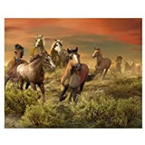 Visual Echo 3D Effect The Wild Bunch 3D Lenticular Puzzle 500pc S4