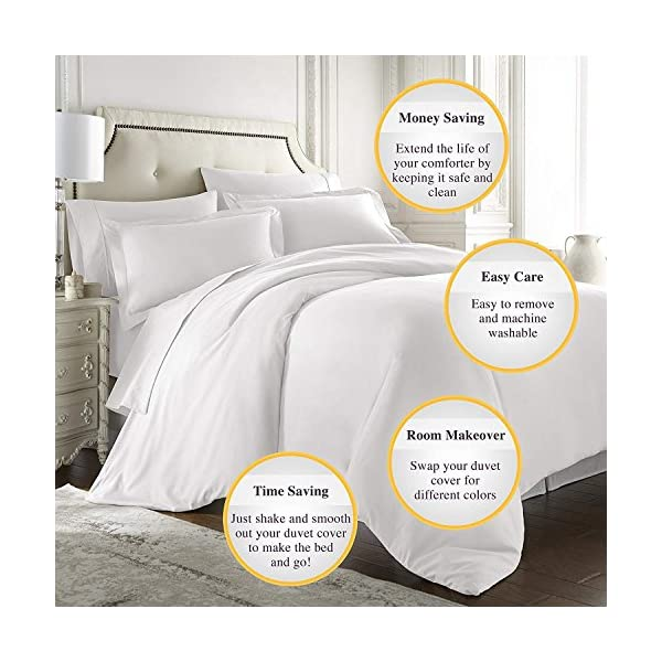 SUHOM Duvet Cover Set, American Cocker Spaniel Dog,Decorative 3 Piece Bedding Set with 2 Pillow Shams Queen Size 4