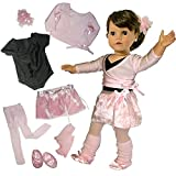 Best Doll Set With Ballerina Outfits - Doll Clothing for 18 Inch Dolls, Complete 7 Review