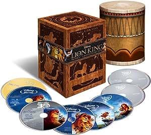The Lion King Trilogy Collection (8-Disc Set) [Blu-ray 3D + Blu-ray + DVD + Digital Copy] (Bilingual)