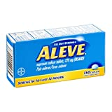 Aleve All Day Strong Pain Reliever Fever Reducer, 150 Caplets 220 mg(Pack of 3)