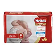 Huggies Little Snugglers Diapers - Preemie - 30 ct