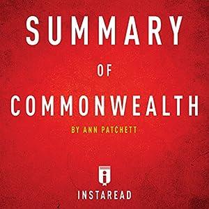 Summary of Commonwealth by Ann Patchett Audiobook