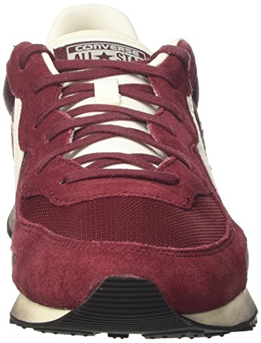 Converse 148535CS, Chaussures Mixte Adulte Rouge (Maroon/maroon/natural)