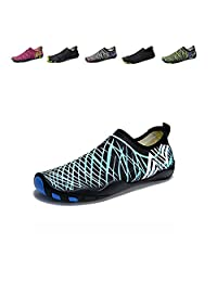Wodun Mens Womens Lightweight Water Shoes Barefoot Quick Dry Aqua Socks for Beach Surfing Swim Yoga Exercise Shoes for Unisex