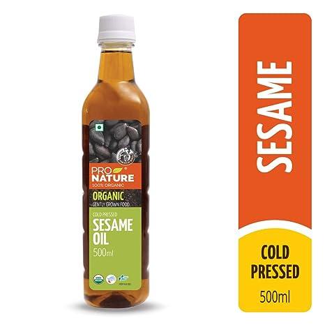 Pro Nature 100% Organic Sesame Oil 500 ml