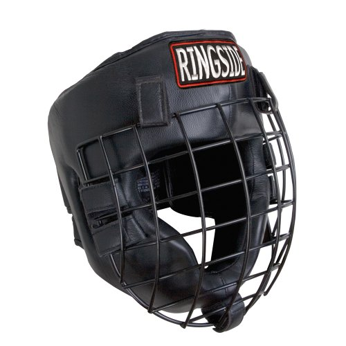 - Ringside Full Face Safety Cage Boxing Training Headgear