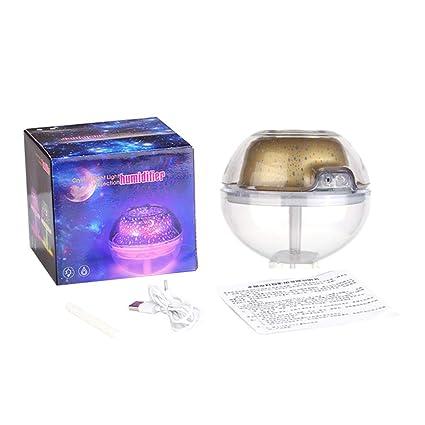 Hergon - Difusor de aroma de 500 ml, proyección de estrellas ...