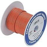 Ancor 100510 Marine Grade Electrical Primary Tinned Copper Boat Wiring (18-Gauge, Orange, 100-Feet)