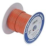 Ancor 102510 Marine Grade Electrical Primary Tinned Copper Boat Wiring (16-Gauge, Orange, 100-Feet)