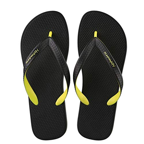 Plage d'été Yellow Chaussures de de Chaussures qxHptp