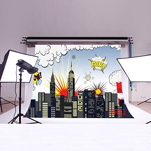 LB-7x5ft-Super-City-Vinyl-Photography-Backdrop-Customized-Photo-Background-Studio-Prop-HR01
