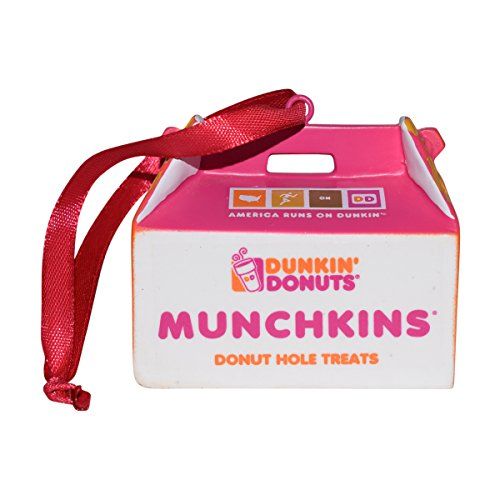 de47a4bbd91d3 Dunkin Donuts Hanging Holiday Ornaments for Decoration (Munchkins)
