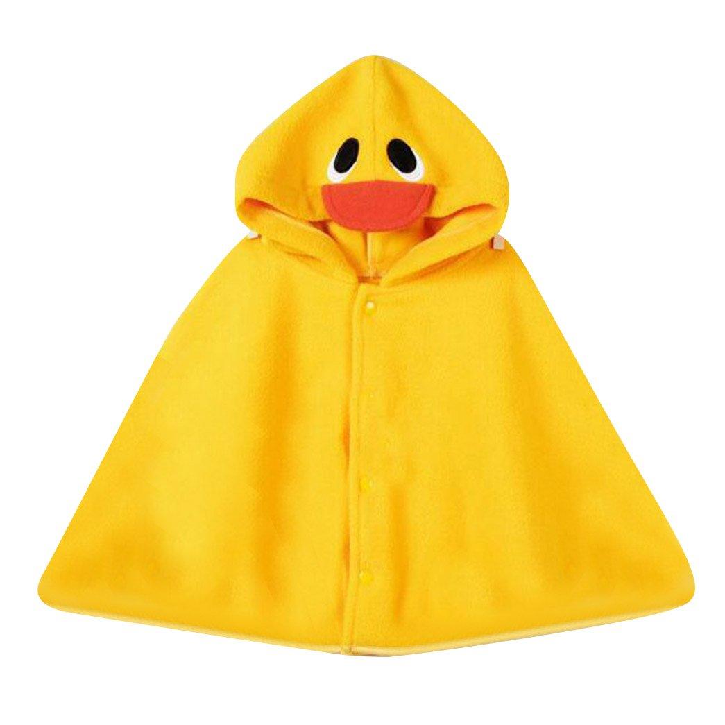 Baby Kinder Kapuzen Cape Mantel Kleinkinder Fleece Tragen Winter Warme Poncho Hoodie Mantel Haut Freundliche Baby Mantel Highdas