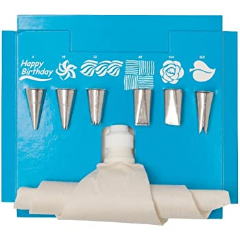 This Item Ateco 332 8 Piece Cake Decorating Set