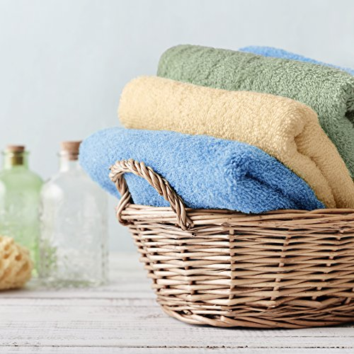 Review CrystalTowels 7-Pack Bath Towels