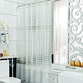 Bad Vorhang diossad duschvorhang transparent wasserdichter schimmelresistent