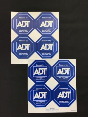 Adt Window Sticker Decal  Authentic