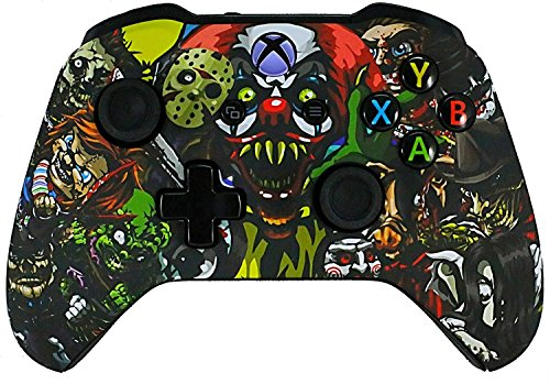 Xbox One Soft Touch Design Custom Gaming Controller  Soft Shell For Comfort Grip X   Microsoft Xbox 1  Scary Party