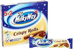 Milky Way Crispy Roll, 5x25 g (Pack of 13): Amazon.es ...