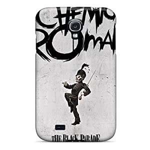 Anti-Scratch Cell-phone Hard Covers For Samsung Galaxy S4 With Unique Design Stylish My Chemical Romance Band Skin AlissaDubois