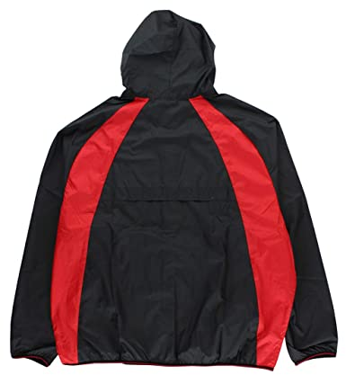 cfc0228bead226 Jordan Men s Air Nike Wings Windbreaker Jacket Black Red at Amazon Men s  Clothing store