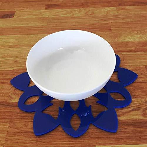 Super Cool Creations Snowflake Placemat Set, Blue - Standard - 8 Placemats