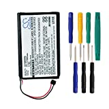 Cameron sino 1000mAh Li-ion Rechargeable Battery 361-00035-03 Replacement For Garmin Nuvi 2595LMT 2555LMT 2495LMT 2475LT 2405LT 2505LT 2547LMT GPS With Tools Kit