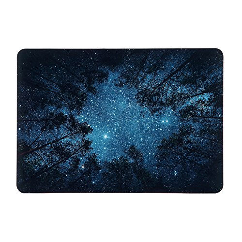 iDonzon Forest Starry MacBook Air 13 inch Case (2010-2017 Release), Soft-Touch Matte Plastic Hard Protective Case Cover Only Compatible MacBook Air 13.3 inch (Model: A1369 & A1466)