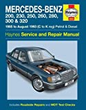 img - for Mercedes-Benz 124 Series Service and Repair Manual (Haynes Service and Repair Manuals) book / textbook / text book