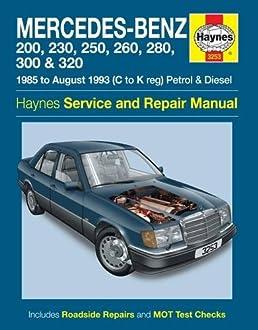 mercedes benz 124 series petrol diesel 85 aug 93 haynes repair rh amazon co uk Mercedes- Benz W115 Mercedes- Benz W115
