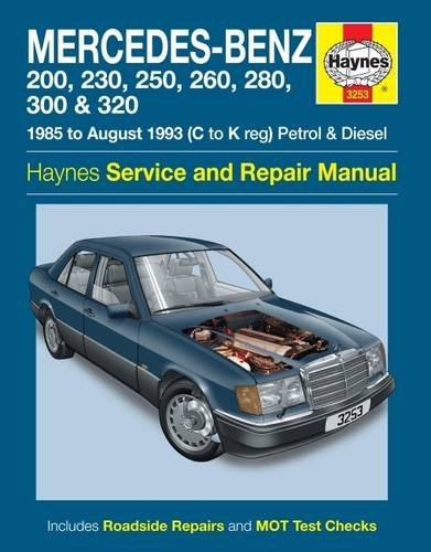 mercedes benz 124 series haynes publishing 9780857339485 amazon rh amazon com mercedes s 320 repair manual mercedes s 320 repair manual