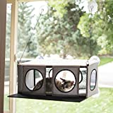 "K&H Pet Products EZ Mount Penthouse Gray/Black 19"" x 23"" x 9.5"" Kitty Sill"