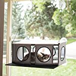 "K&H Pet Products EZ Mount Penthouse Gray/Black 19"" x 23"" x 9.5"" Kitty Sill 8"